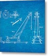 Hornby Meccano Patent Art 1906 Blueprint Metal Print
