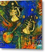 Horns And Other Things Metal Print