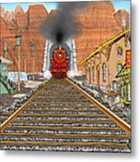 Horn's Junction Metal Print