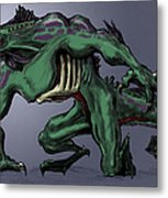 Horrid Creature Metal Print