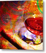 Hors D Age Cognac And Stogie Metal Print by Wingsdomain Art and Photography