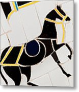 Horse-01 Metal Print by Haris Sheikh
