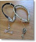 Horse Hair Bracelets Metal Print by Rosalie Klidies