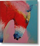Horse Metal Print by Michael Creese