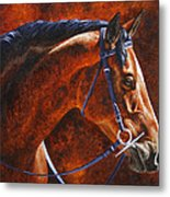 Horse Painting - Ziggy Metal Print by Crista Forest