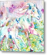 Horse Painting.17 Metal Print