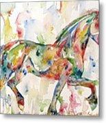 Horse Painting.23 Metal Print