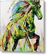 Horse Painting.26 Metal Print