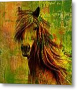 Horse Paintings 001 Metal Print