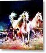 Horse Paintings 002 Metal Print