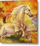 Horse Paintings 003 Metal Print