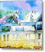 Horse Paintings 008 Metal Print