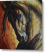 Horse Power Metal Print by Silvana Gabudean Dobre