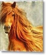 Horse Two Metal Print