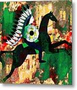 Horseman Metal Print