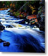 Horserace Rapids In Autumn Metal Print