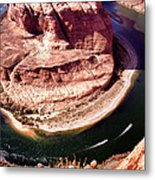 Horseshoe Bend Boat Race - Page Arizona Metal Print