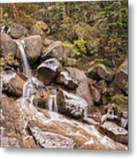 Horsethief Falls - Cripple Creek Colorado Metal Print