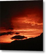 Horsetooth Sunset Metal Print
