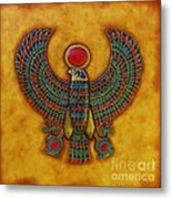 Horus Metal Print by Joseph Sonday