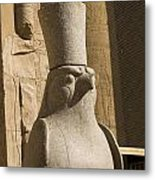 horus the Eagle Headed God Metal Print by Brenda Kean