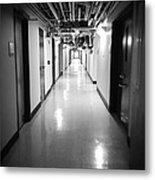 Hospital  Metal Print