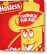 Hostess Twinkie The Kid Metal Print by Tony Rubino