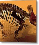 Hostile Fossil Metal Print