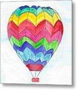 Hot Air Balloon 02 Metal Print