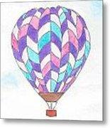 Hot Air Balloon 06 Metal Print