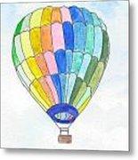Hot Air Balloon 08 Metal Print