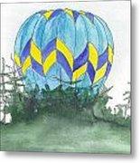 Hot Air Balloon 09 Metal Print