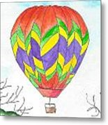 Hot Air Balloon 10 Metal Print