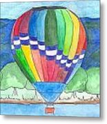 Hot Air Balloon 11 Metal Print