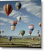Hot Air Balloon Metal Print
