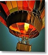 Hot Air Balloon  Metal Print