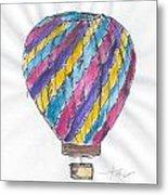 Hot Air Balloon Misc 02 Metal Print
