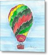 Hot Air Balloon Misc 03 Metal Print