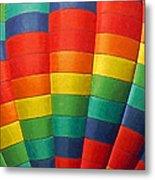 Hot Air Balloon Painterly Metal Print