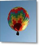 Hot-air Balloons Over Paradise - Immokalee 2014  Number 2  Metal Print