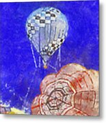 Hot Air Balloons Photo Art 04 Metal Print