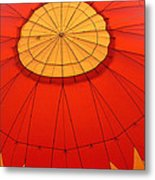 Hot Air Balloon At Dawn Metal Print