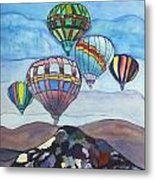 Hot Air Baloons Metal Print