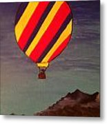 Hot-air Metal Print