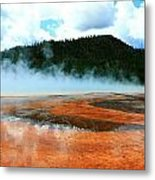 Hot And Steamy Metal Print