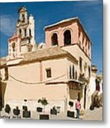 Hot And Sunny Afternoon In Ecija Metal Print