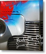Hot Chevy Poster And Postcard Metal Print