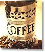 Hot Coffee Metal Print