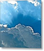 Hot Italian Clouds Metal Print