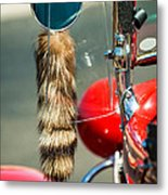 Hot Rod Coon's Tail Metal Print